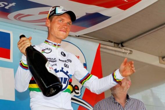 Dubbelslag voor supersterkeTony Martin: tijdritzege en leider in Ronde van Belgie