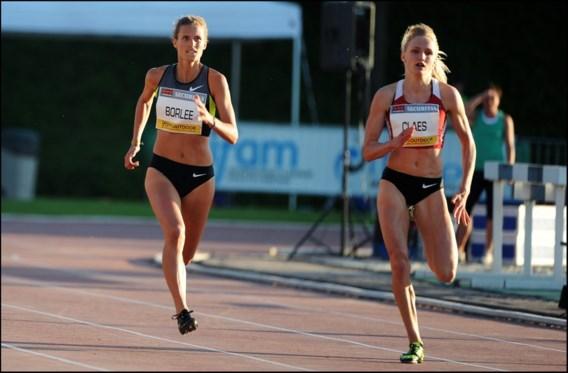 Hanne Claes sneller dan Olivia Borlée in 200 meter Oordegem