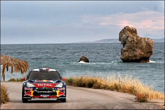 Sébastien Loeb ook leider na tweede dag Acropolis Rally, Neuville zevende