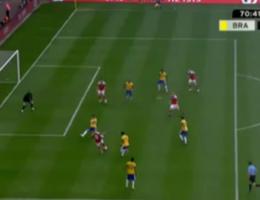 VIDEO. Club-speler Zimling geeft assist in Brazilië-Denemarken