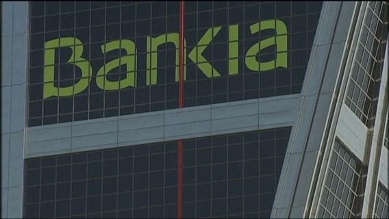 Aandeel Bankia keldert op de beurs