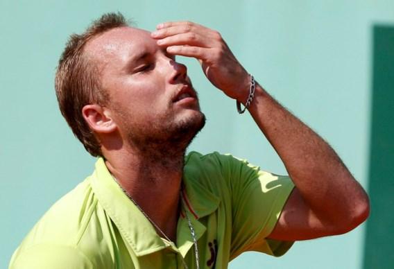 Steve Darcis moet meteen inpakken op Roland Garros