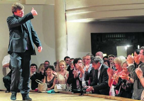 Andrey Baranov: charmante nuchterheid en muzikaal enthousiasme. epa