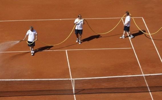 Uitslagen eerste dag Roland Garros
