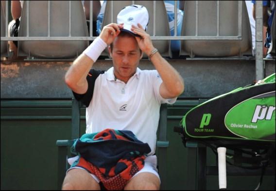 Olivier Rochus meteen uitgeschakeld op Roland Garros