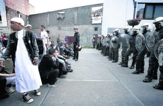 Sharia4Belgium riep recent op tot protesten in Molenbeek, nadat een vrouw met nikab was opgepakt.