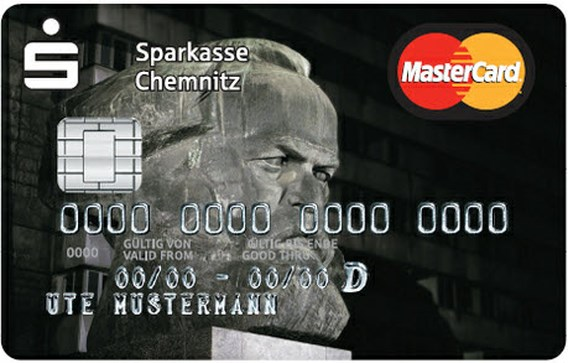 Duitse bank lanceert Karl Marx-bankkaart
