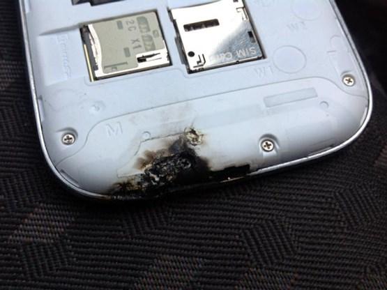 Samsung: 'Geen probleem met ontploffende Galaxy S III'