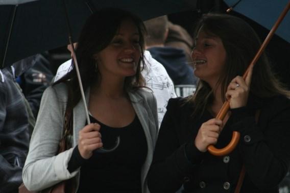 Paraplu blijft nodig de komende dagen