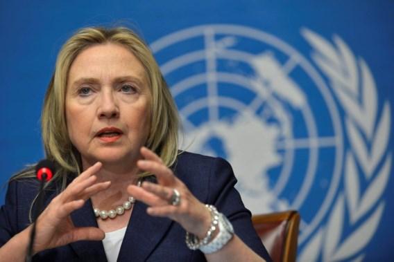 Hillary Clinton: 'Assad moet verdwijnen'