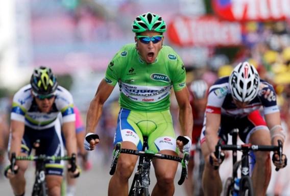 Sagan: 'Reed de perfecte sprint'