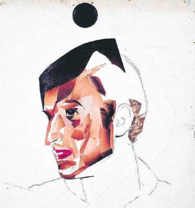 'Zelfportret (Collage)' (2001).