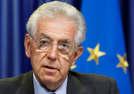 Monti sluit niet uit dat Italië moet aankloppen bij noodfonds