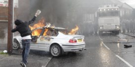 Rellen na jaarlijkse Oranjemarsen in Belfast