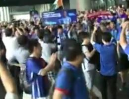VIDEO. Drogba is koning van Shanghai
