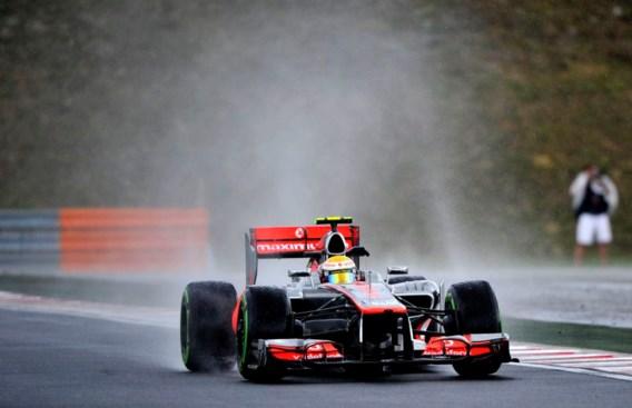 Lewis Hamilton pakt pole GP Formule 1 van Hongarije