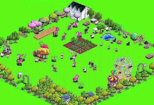 'Farmville': ooit het populairste spel op Facebook.