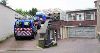 In deze gemeentelijke garage in Ukkel vonden de feiten plaats.