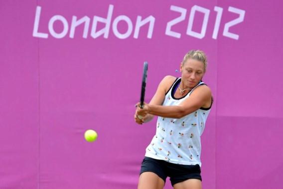 Yanina Wickmayer tegen Caroline Wozniacki in 2e ronde olympisch tennistoernooi
