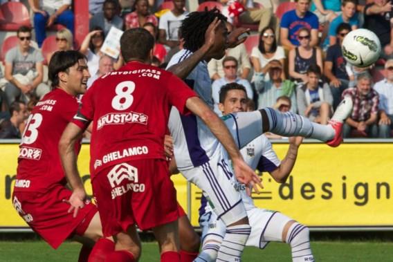 Anderlecht profiteert niet van omstreden strafschop