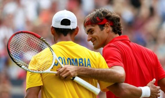 Federer: drie matchpunten gemist, setverlies maar toch door