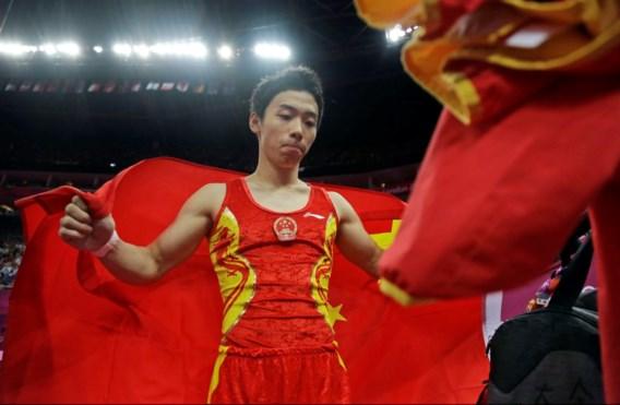 Chinese gymnast Zou Kai opnieuw beste in grondoefening