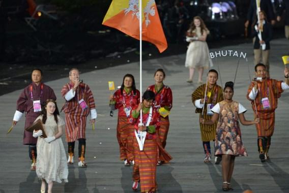 Bhutan met plezier één van de kleinste landen op de Spelen