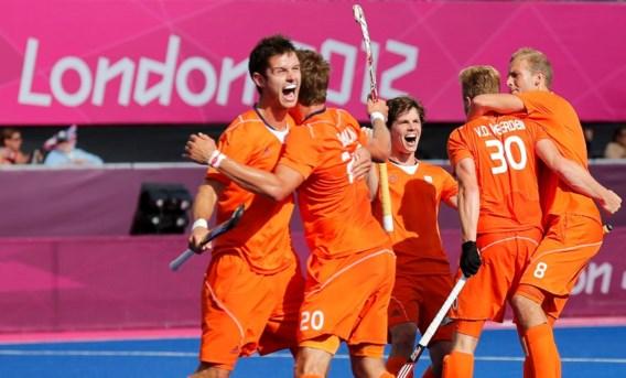Nederlandse hockeymannen geplaatst voor halve finales