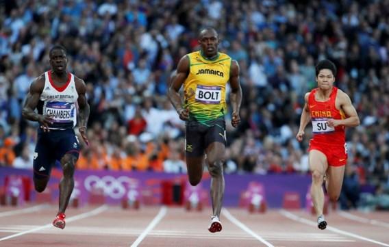 Bolt en Blake joggen naar finale, Powell met bang hartje door