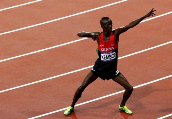 Wereldkampioen Ezekiel Kemboi pakt goud op 3000m steeple