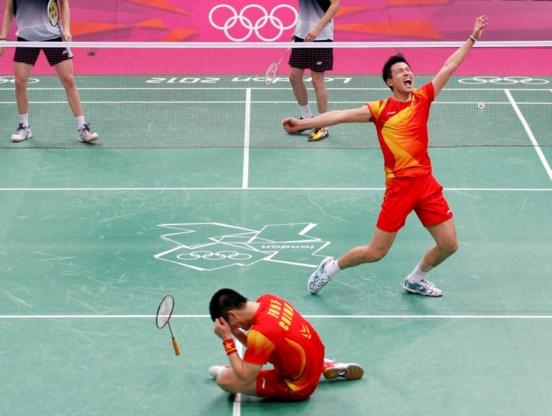 China pakt alle gouden medailles in het badminton