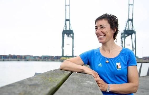 Windsurfster Sigrid Rondelez sluit carrière af met 17e plaats op Spelen