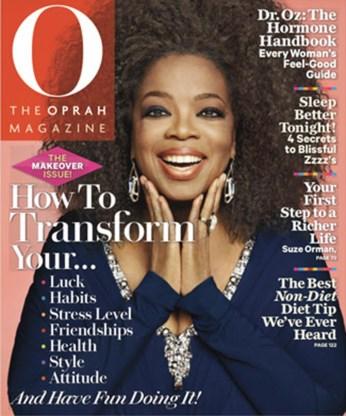 Oprah onthult haar natuurlijke afrokapsel