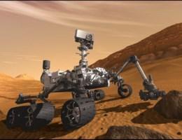 VIDEO. Eerste beelden van de landing van de Curiosity