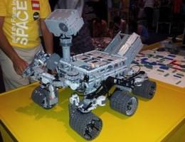 VIDEO. De Curiosity in Lego