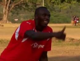 Usain Bolt stuurt sollicitatievideo naar Manchester United