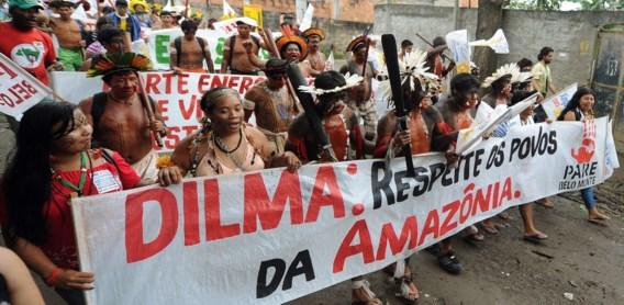 Bouw omstreden dam in Braziliaanse Amazonegebied stilgelegd