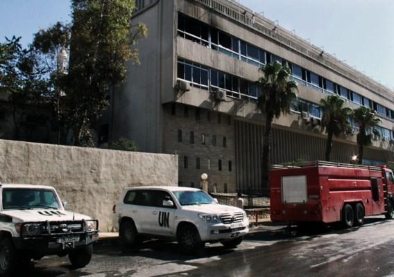 Syrische rebellen eisen bomexplosie vlakbij VN-hotel in Damascus op