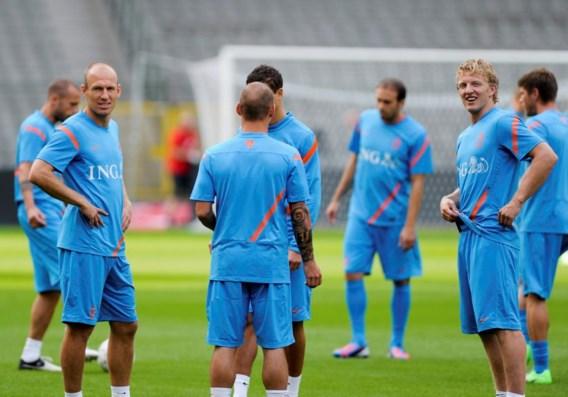 Dit zijn de elf van Nederland tegen België