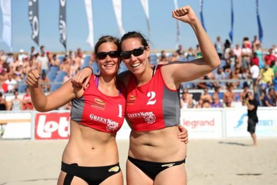 Geen twee op twee voor beachvolleybalsters Mouha en Gielen in Polen
