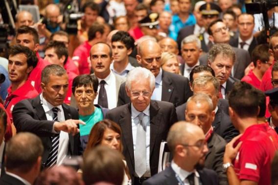 Monti: 'Het gaat beter met Italië'
