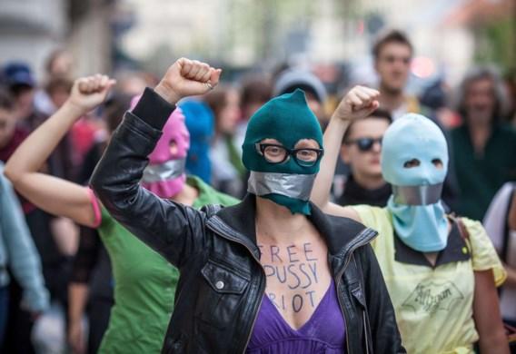 Sympathisanten Pussy Riot in Marseille opgepakt voor overtreden boerkawet