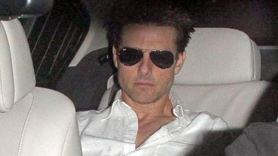 Tom Cruise fel vermagerd door scheiding