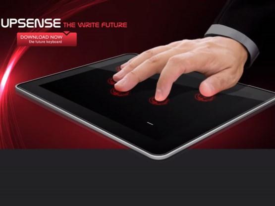 Onzichtbaar Android-toetsenbord zonder toetsen