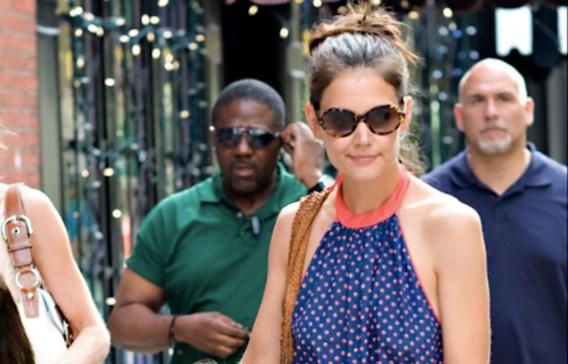 Katie Holmes officieel toegevoegd aan New York Fashion Week