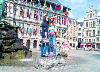 Antwerpen is vooral in trek bij toeristen uit Japan, China en Rusland.