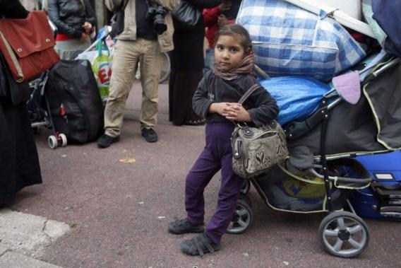 Franse politie ontruimt Roma-kamp in Evry