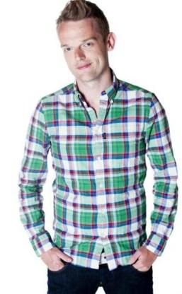 MNM-presentator Tom De Cock.