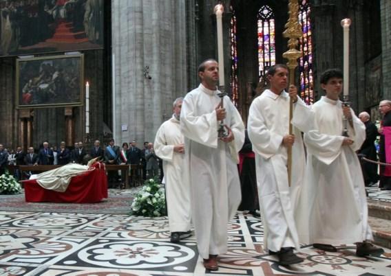 Overleden kardinaal Martini waarschuwde de kerk '200 jaar achter te lopen'