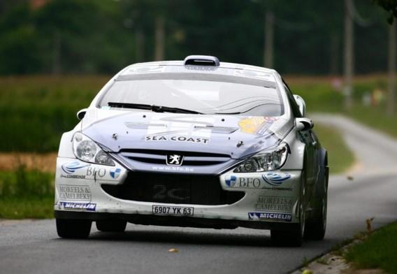 Freddy Loix na openingsdag pas negende in Rally van de Mont-Blanc